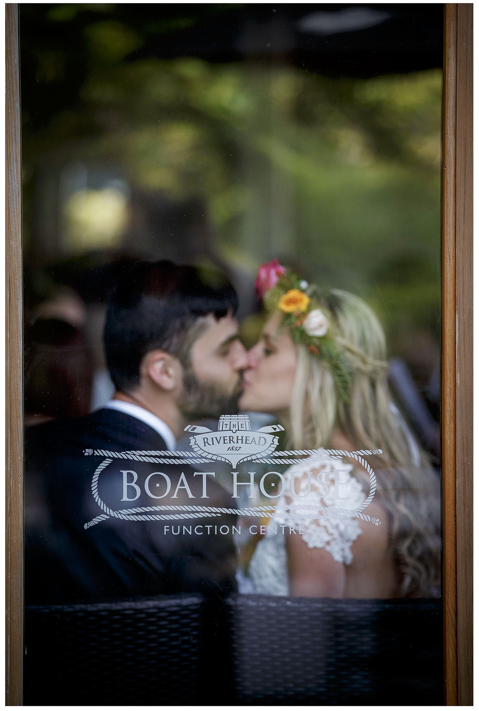 The Boat House at River Head Tavern Aucklansd Wedding photo by Chris Loufte
