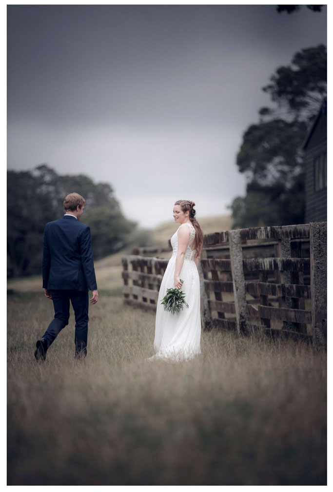 Cornwall Park Auckland wedding photo by Chris Loufte