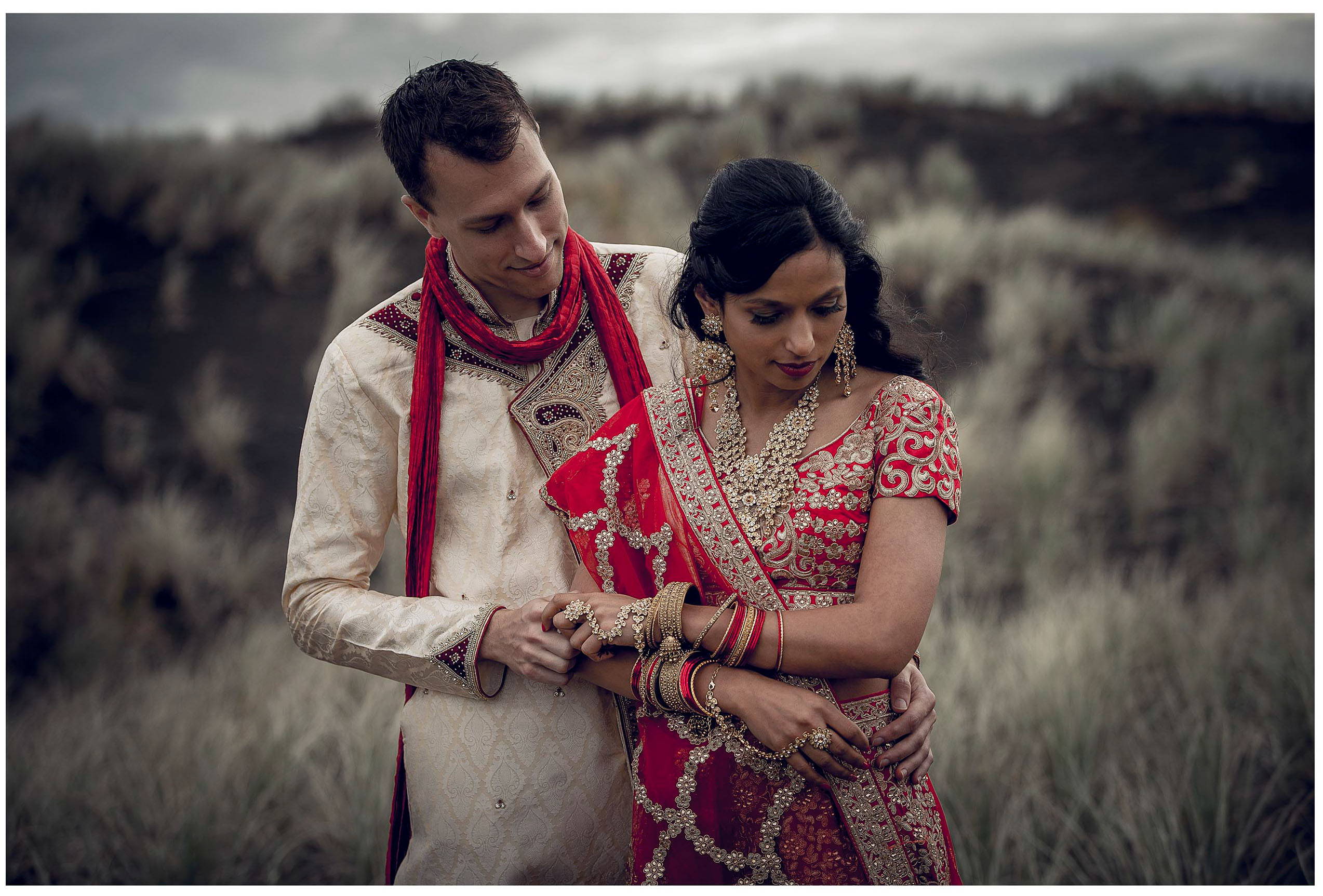 Indian wedding betthels beach photo by Chris Loufte
