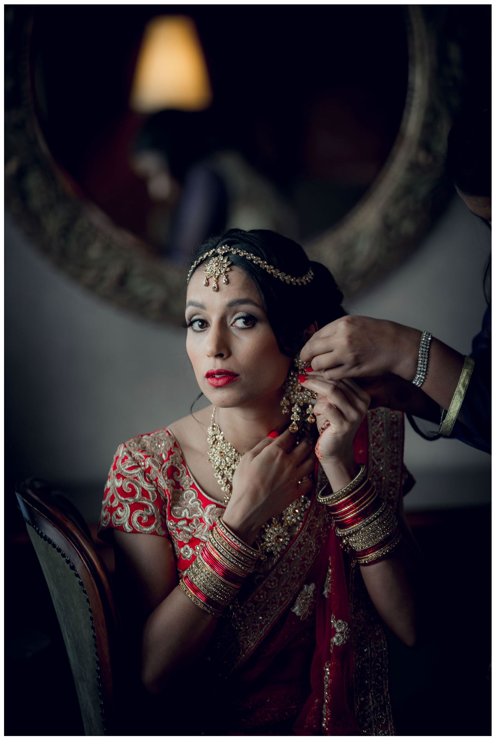 Indian wedding att The Auckland Langham Hotel photo by Chris Loufte