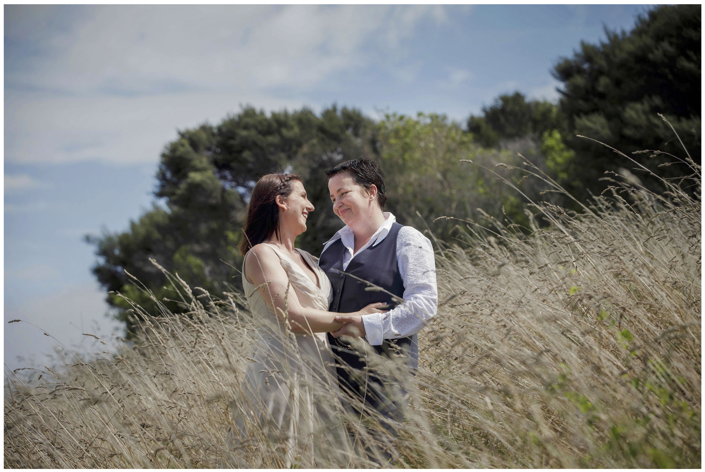 Mudbrick Waiheke Island wedding photo by Chris Loufte www.theweddingphotographer.co.nz