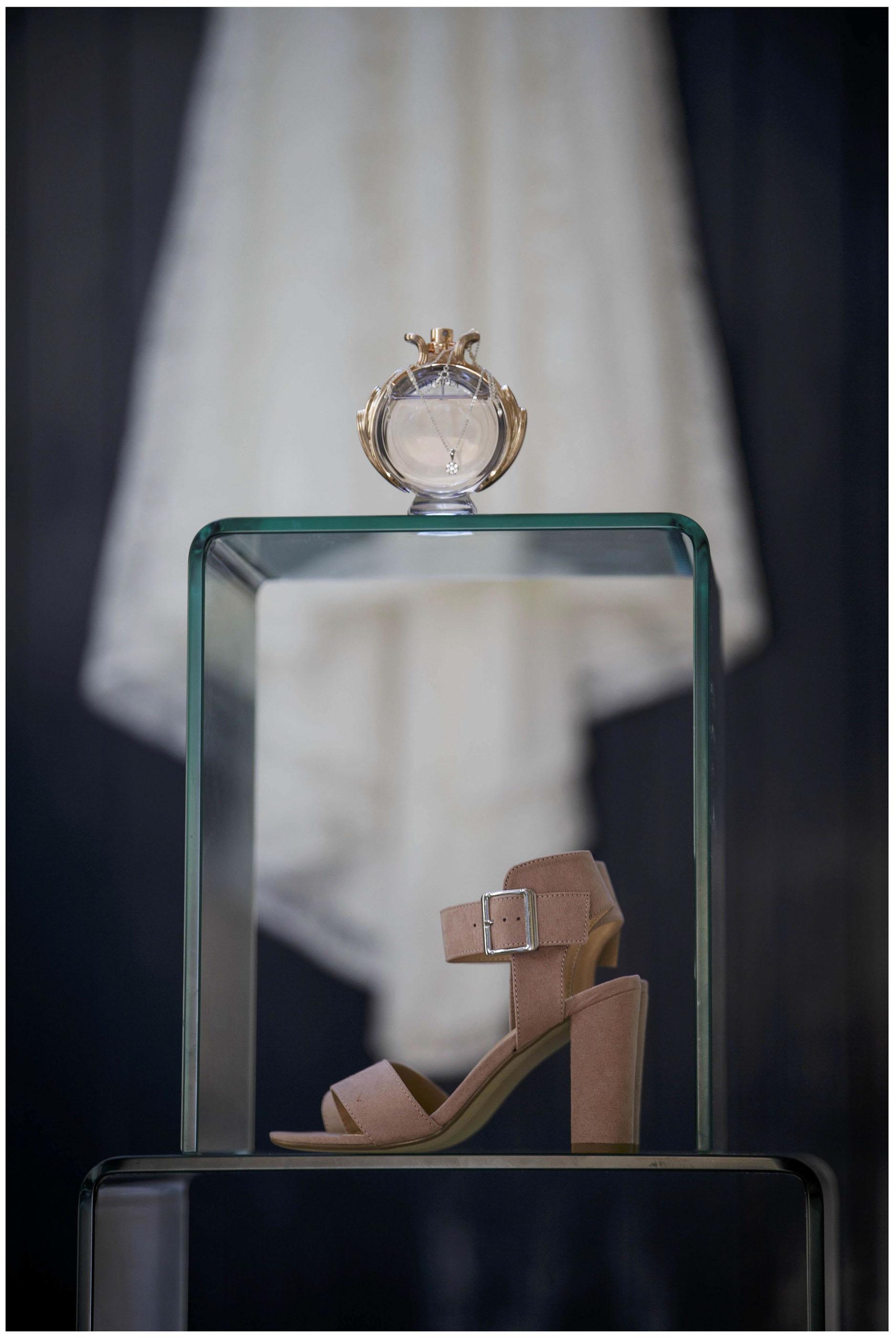 Wedding shoes , Wedding dress,Wedding perfume bottle, Wedding day jewellery